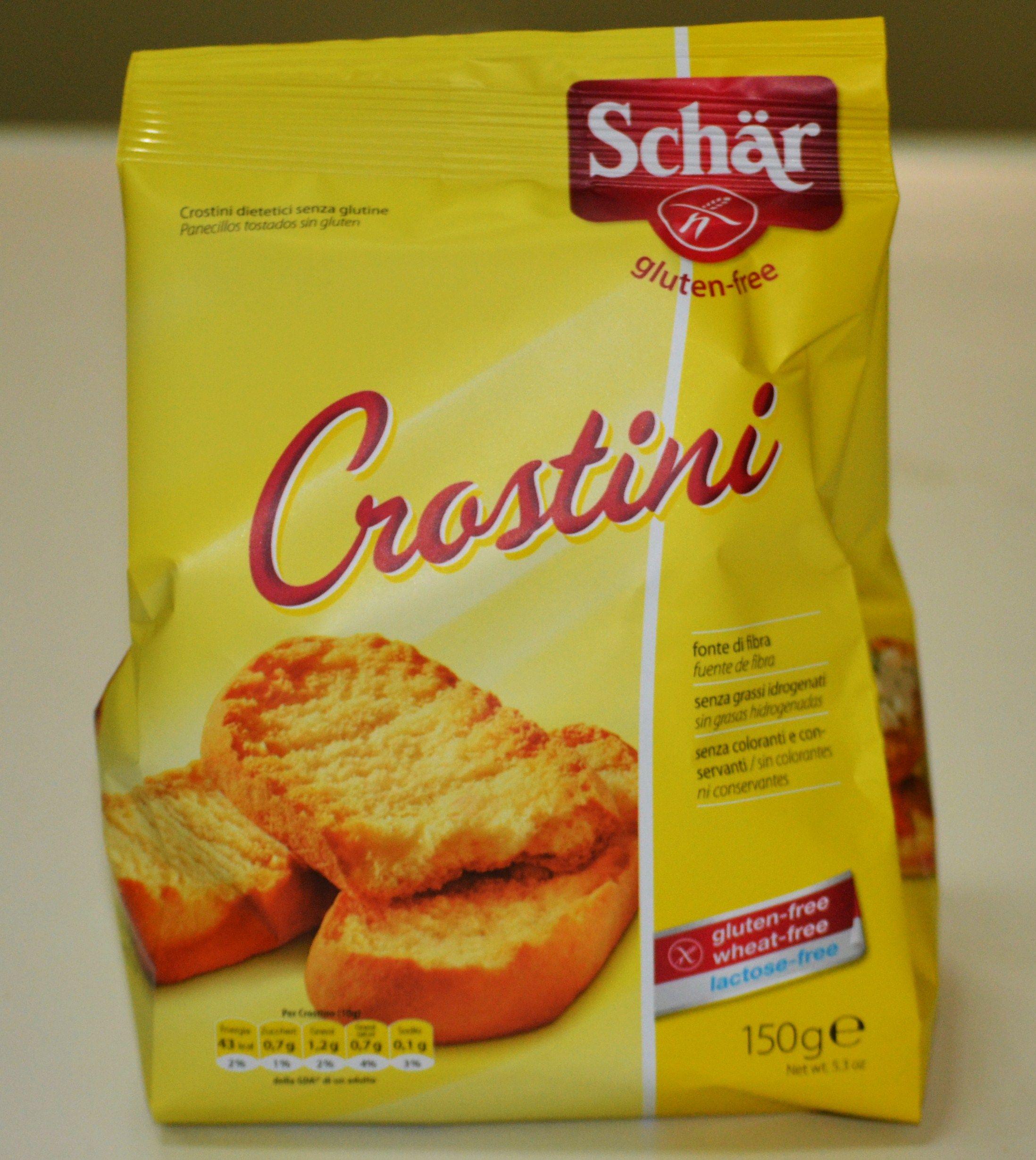 Crostini. Alergens: Sense Gluten I Sense Lactosa.