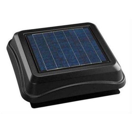 Broan 345sobk 537 Cfm Solar Solar Powered Attic Ventilator With Images Solar Panels Solar Energy Panels Best Solar Panels