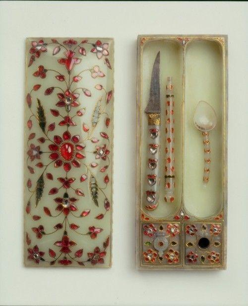Pen Box and Utensils  Mughal, 17th century  The Victoria & Albert Museum
