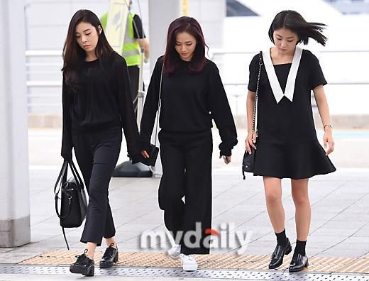 Ladies Code Makes First Public Appearance Since Accident