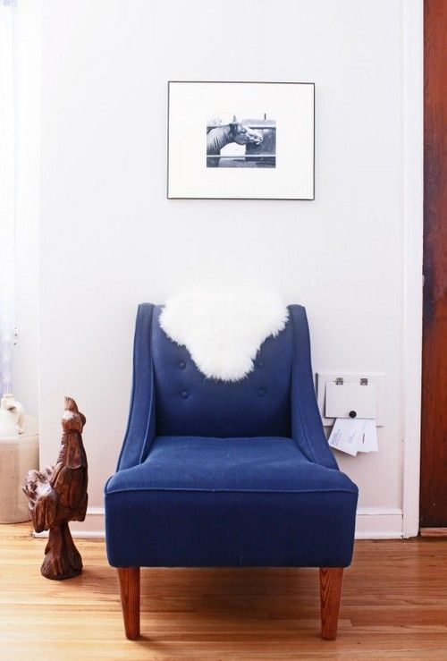 Light Quirky Interior Daily Dream Decor Blue Accent Chairs