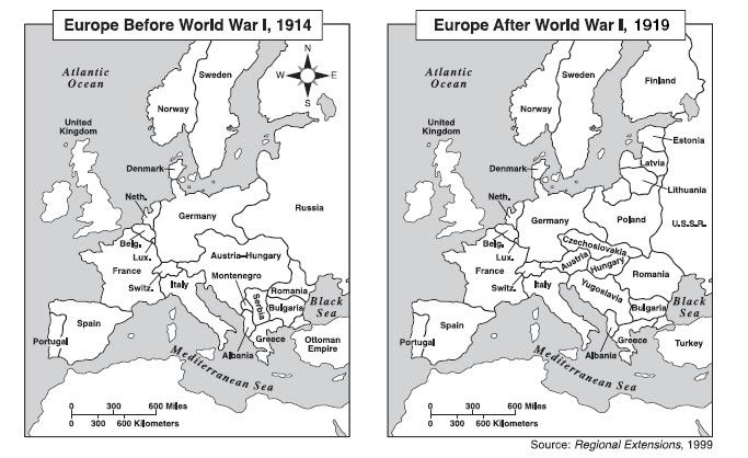 europe pre-wwi and post-wwi - Google Search | Ideas for history ...