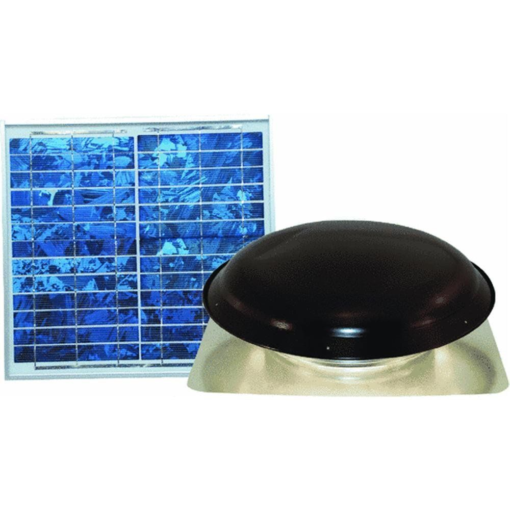 Solar Powered Roof Mount Attic Vent You Can Get More Details By Clicking On The Image Roof Vents Attic Vents Roof Vents Attic