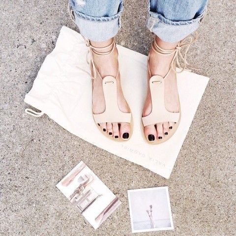 Valia Gabriel Sandals | Spotted on alwaysjudging