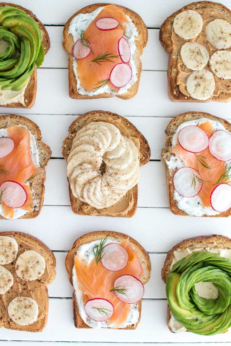 3 FAVOURITE TOAST TOPPINGS