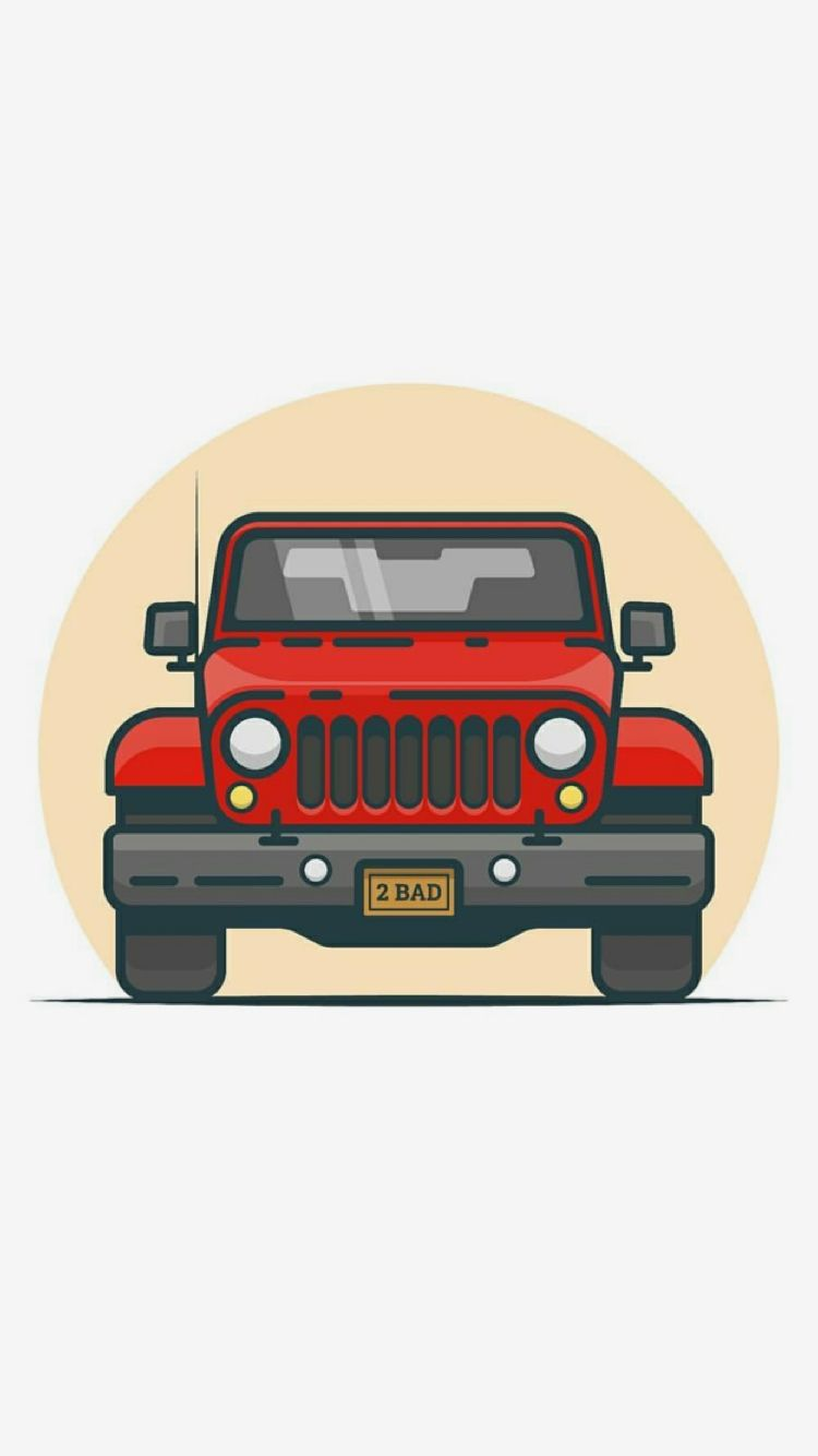 Pin By Lin On Iphone Wallpaper Jeep Art Jeep Wallpaper Retro Cars