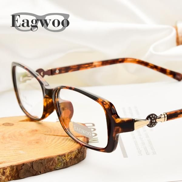 0a8171129f Acetate TR90 Women Designed Eyeglasses Full Rim Crystal Optical Frame  Prescription Plain Clear Elegant Eye Glasses 169  Discounts  BestPrice