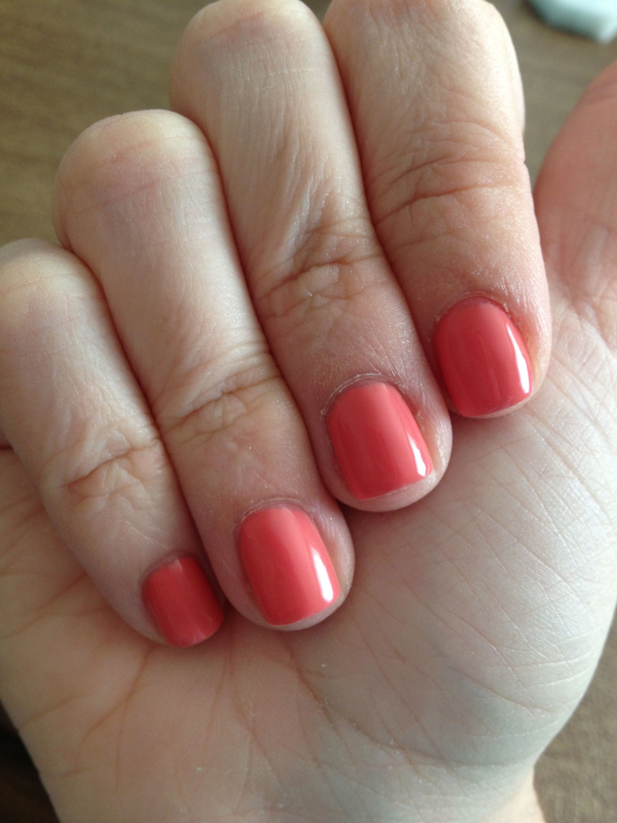 Coral Sunset Sensationail Gel Polish | Nail art & Polish | Pinterest ...