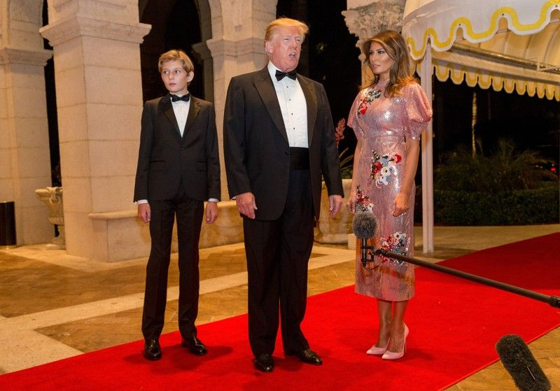 Trump in Palm Beach VIPs flock to New Year's Eve party at