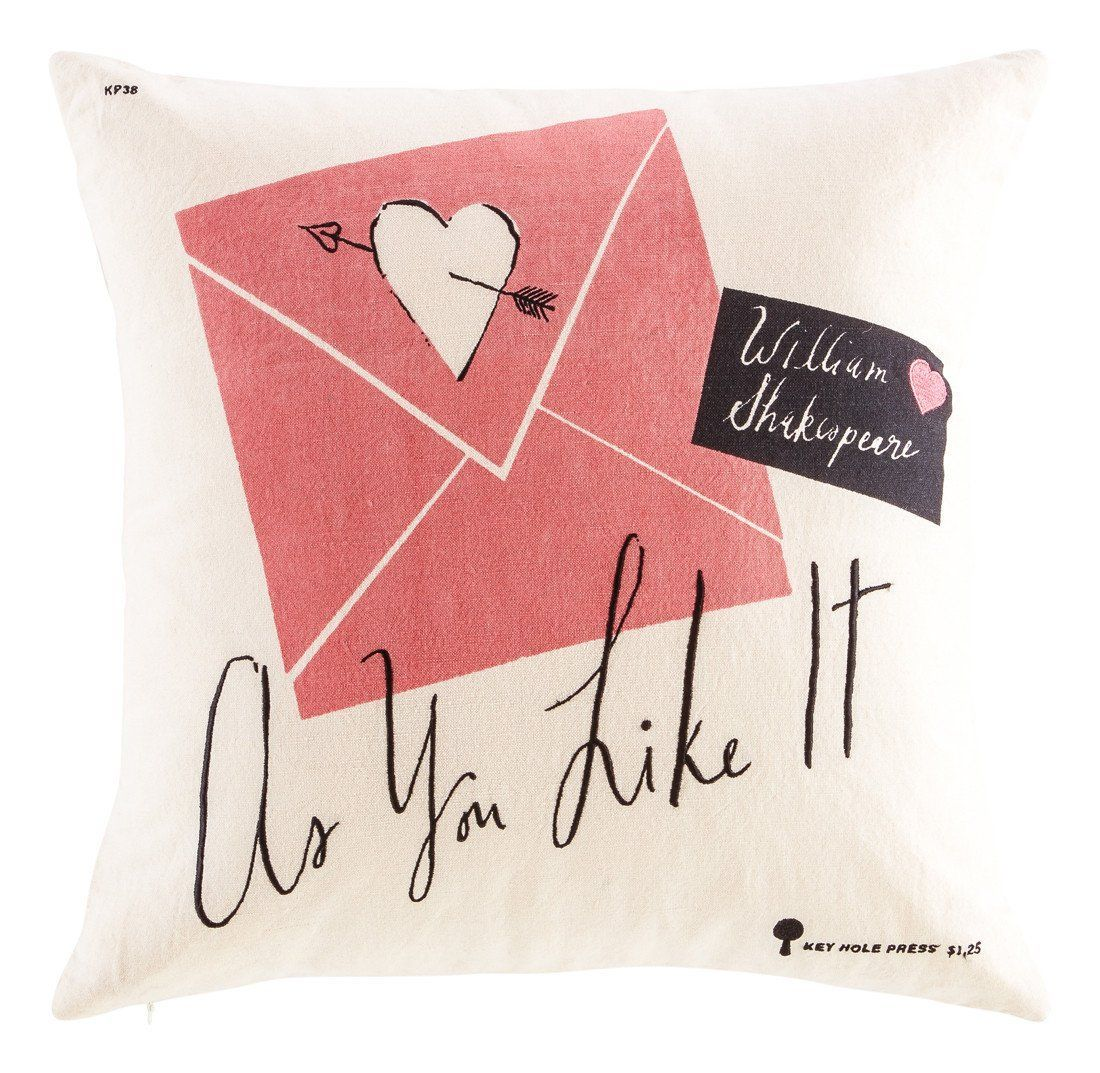 Yorkville pillow in light cream design by kate spade pillows