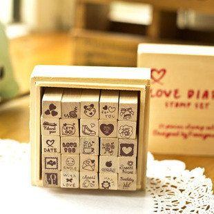 Jasmine Wooden Stamp