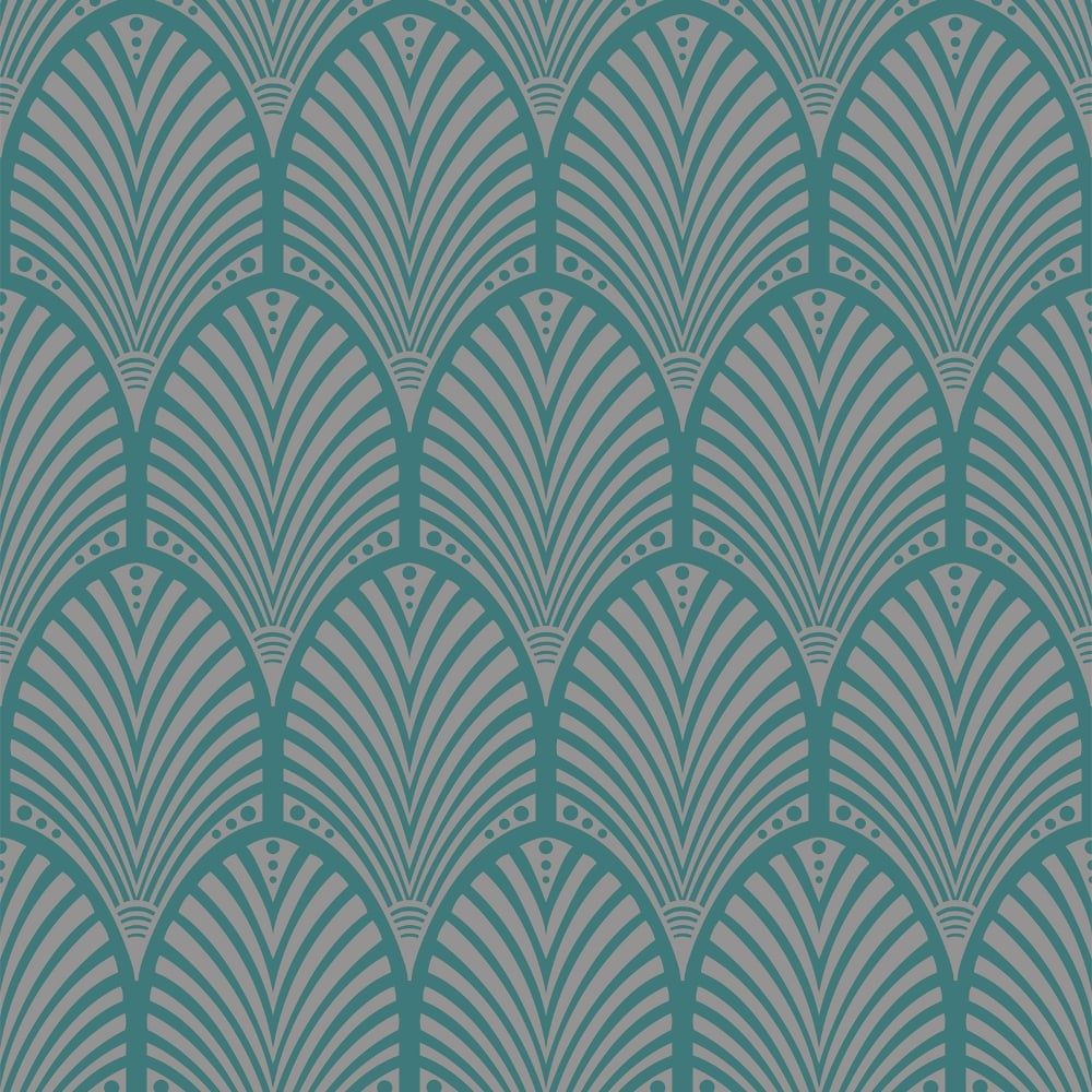 Holden Decor Holden Gatsby Arch Pattern Wallpaper Art Deco