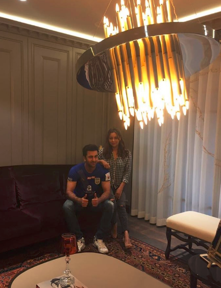 Gauri And Ranbir Give Us A Sneak Peek Into Ranbir Kapoor S New