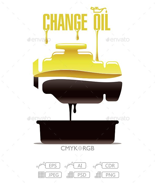 Change Engine Oil Beautiful Logos Design Oils Brochure Design Creative