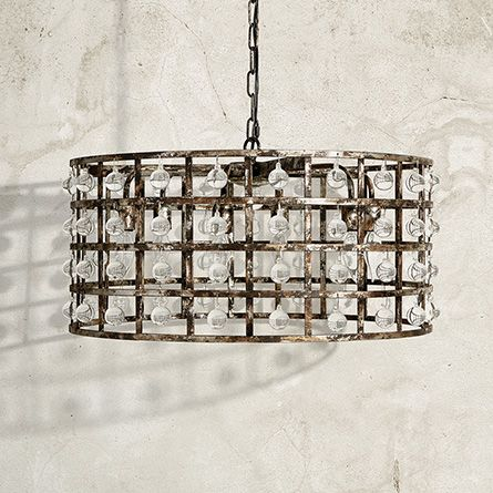 La Cage 6 Light Chandelier Arhaus Furniture For The Home