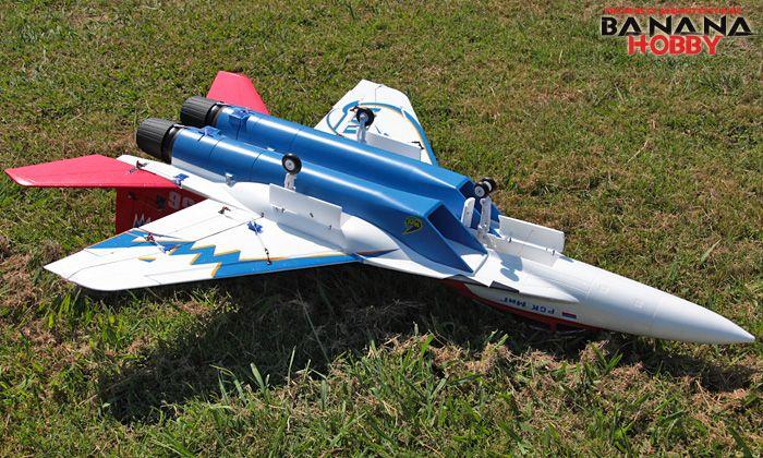 Red Super MiG-29 RC EDF Jet ARF - Radio Controlled Super MiG