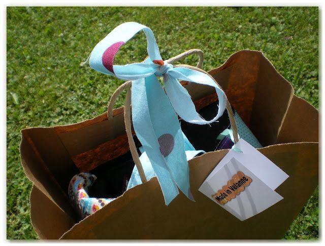 Made in Velanne: Un nouveau sac goutte, pour Cécile