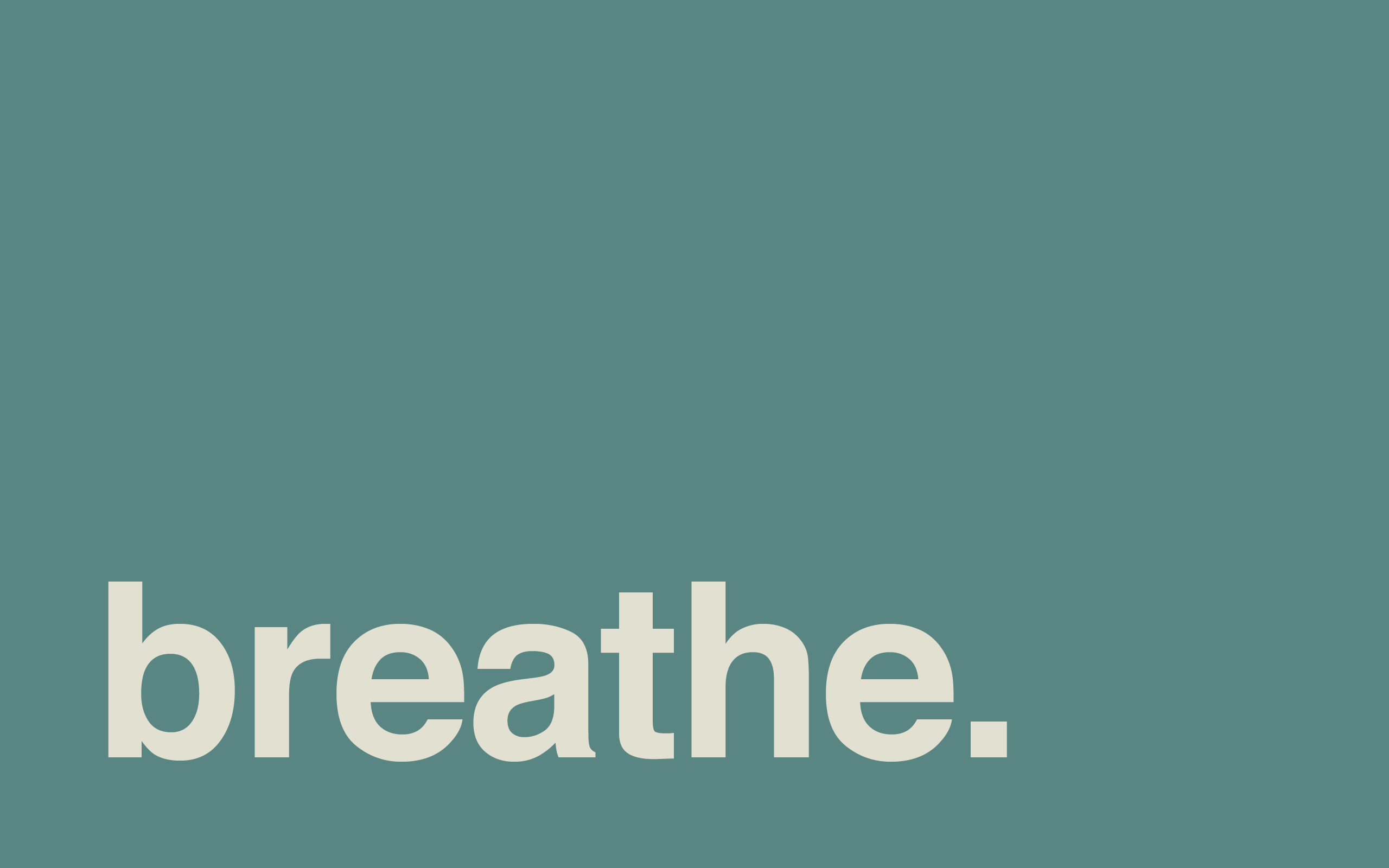 Motivational Quotes Wallpapers Iphone 6 Breathe Minimal Desktop Wallpaper Centered Chaos