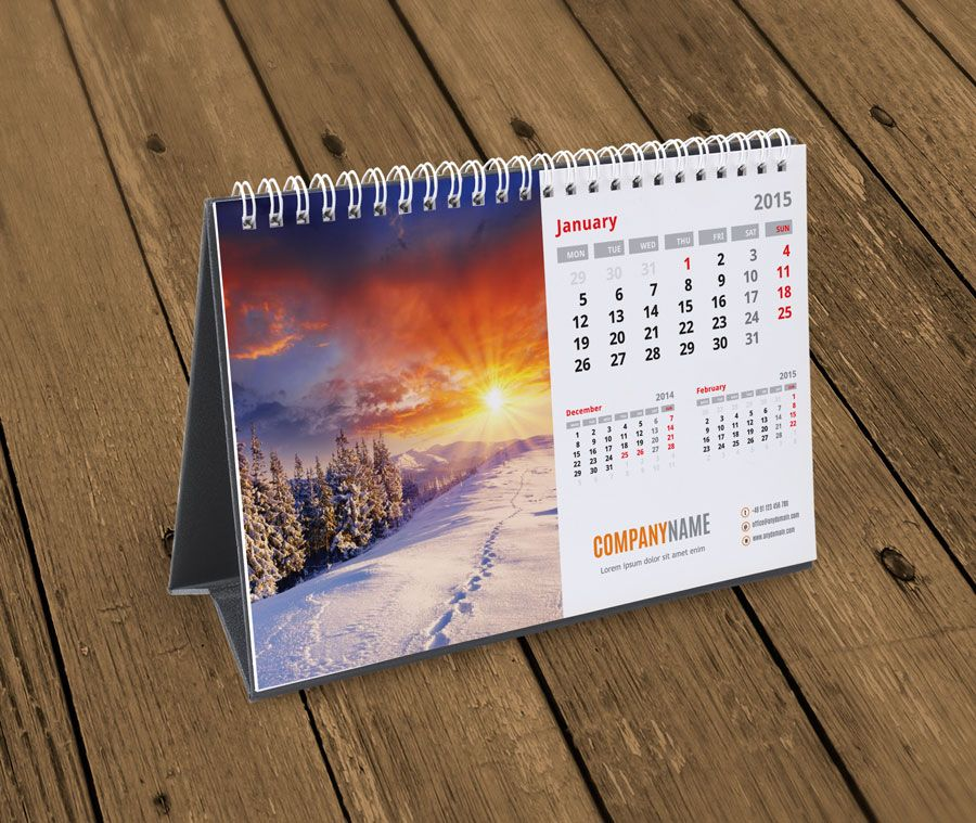 Fully Editable I Scalable Desk Calendar Template Kb10 W1 Calendars