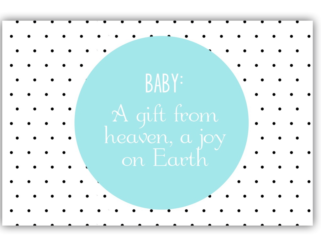 how to ask for gift cards for baby shower