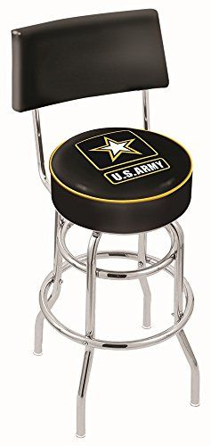 Us Military United States Army 30 Bar Stools With Backs Swivel