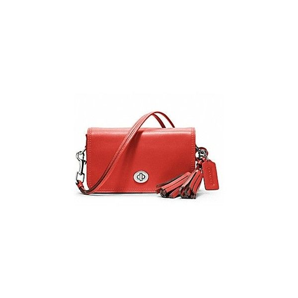 coach_legacy_leather_penny_shoulder_purse2528199142529carnelian.jpg... ❤ liked on Polyvore featuring bags, handbags, shoulder bags, holland roden, red shoulder bag, red handbags and red purse