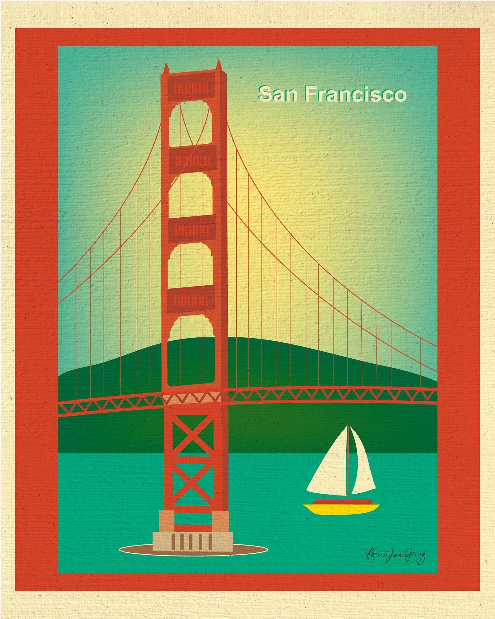 San Francisco, California - Golden Gate Bridge | San francisco ...