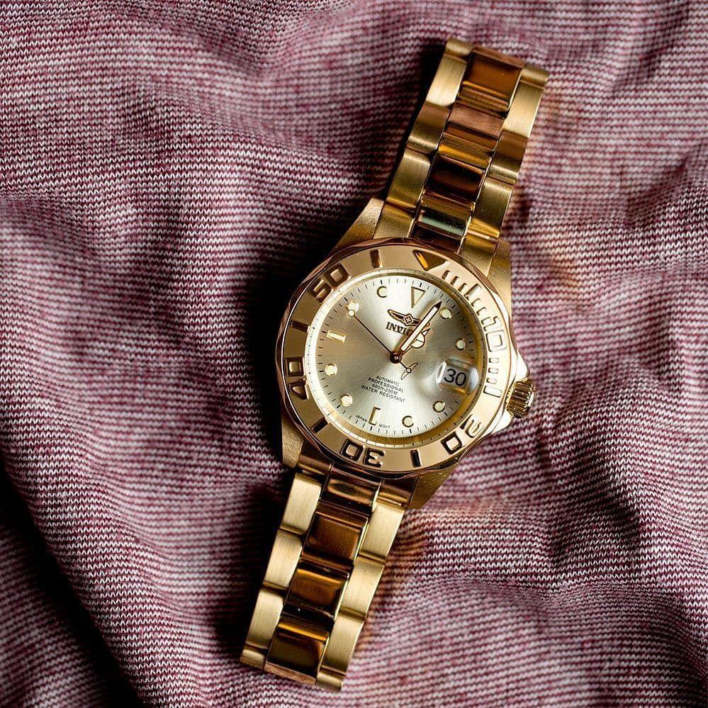 Reloj Invicta Relojes Dorados Reloj Dorado Mujer Relojes Nixon