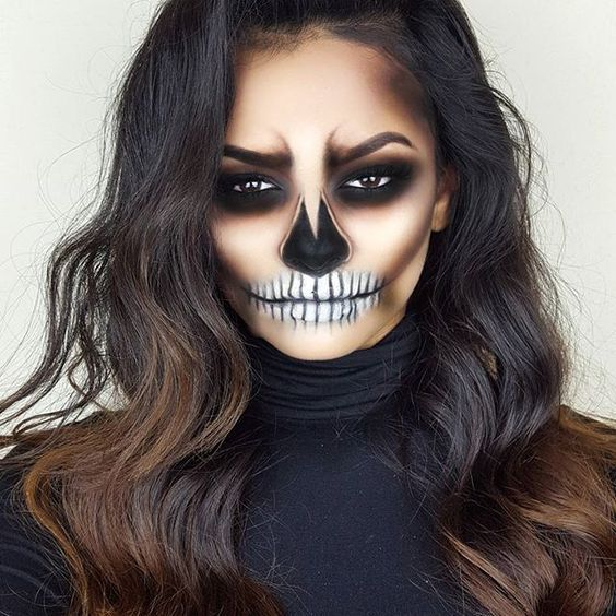 Maquillaje para Halloween - 3 ideas Halloween makeup, Costumes and - halloween ideas for 3