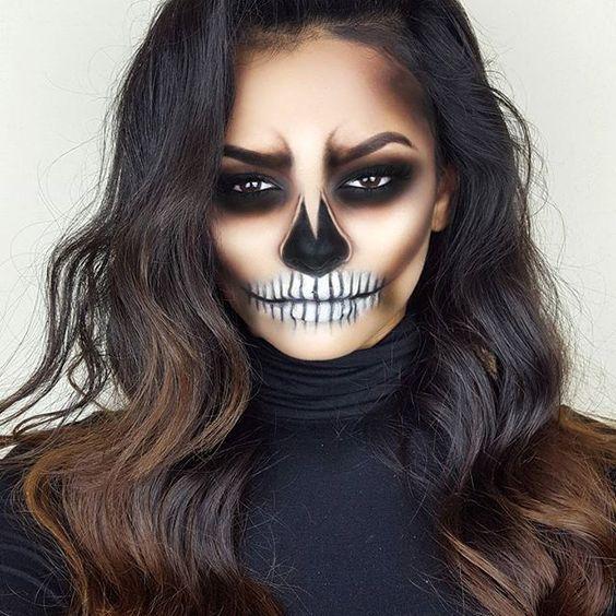 Maquillaje para Halloween - 3 ideas Maquillaje, Halloween y