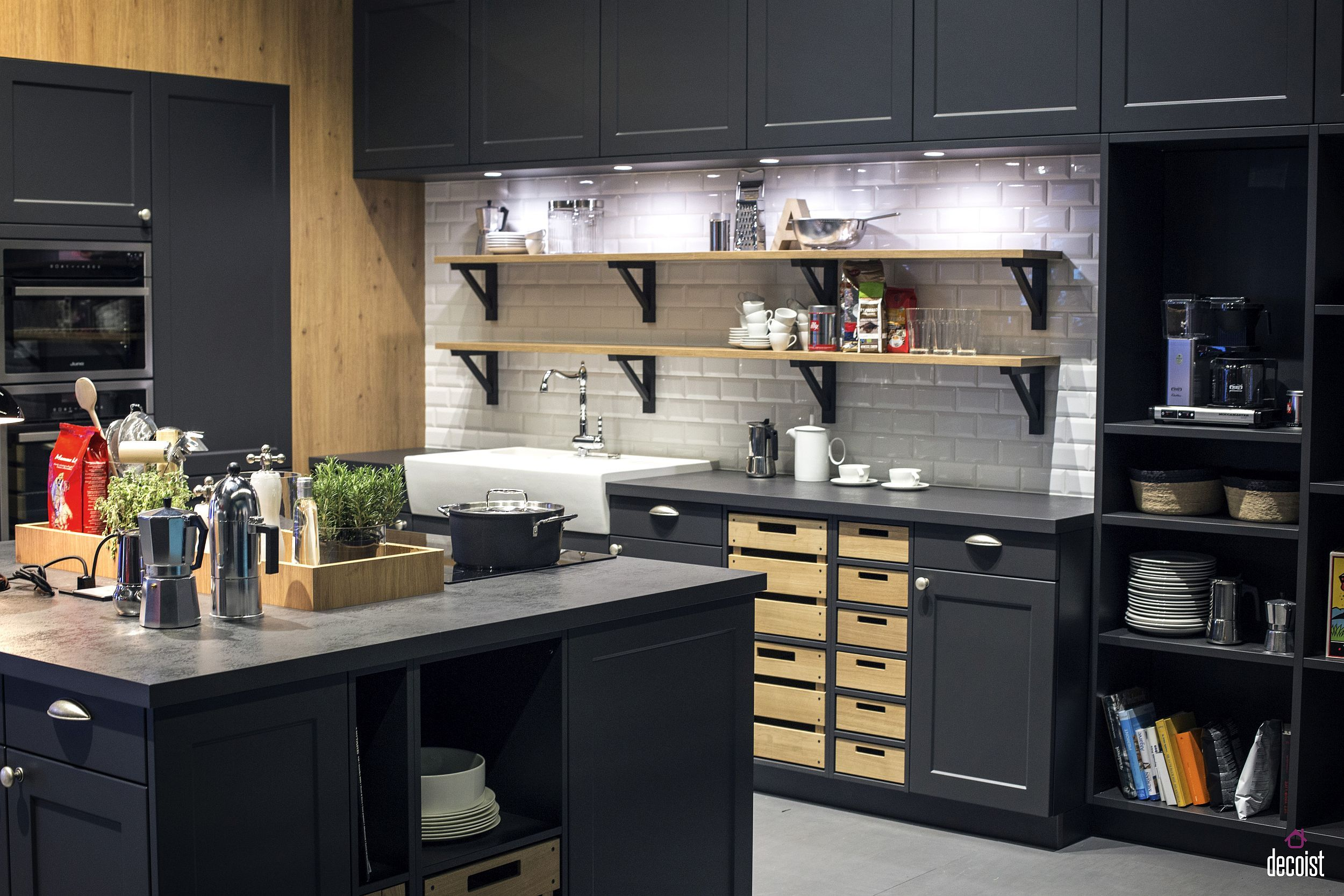 Practical and Trendy 9 Open Shelving Ideas for the Modern ...