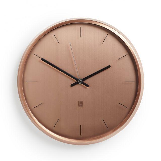 UMBRA WALL CLOCK META Wanduhr 30 cm Uhr kupfer 1004385-880 eBay - wanduhr für küche