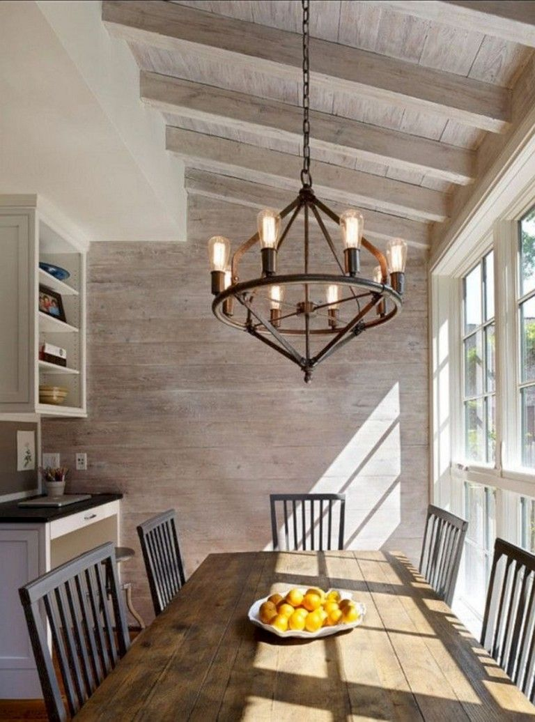 30+ Awesome Dining Room Lighting Ideas for Big Family
