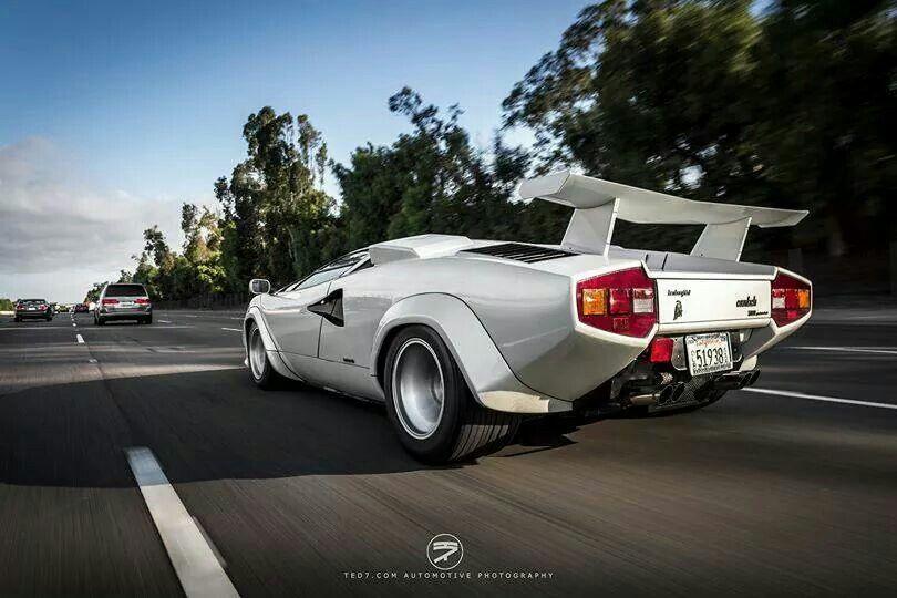 Wolf Of Wall Street Style Lamborghini Countach Lamborghini
