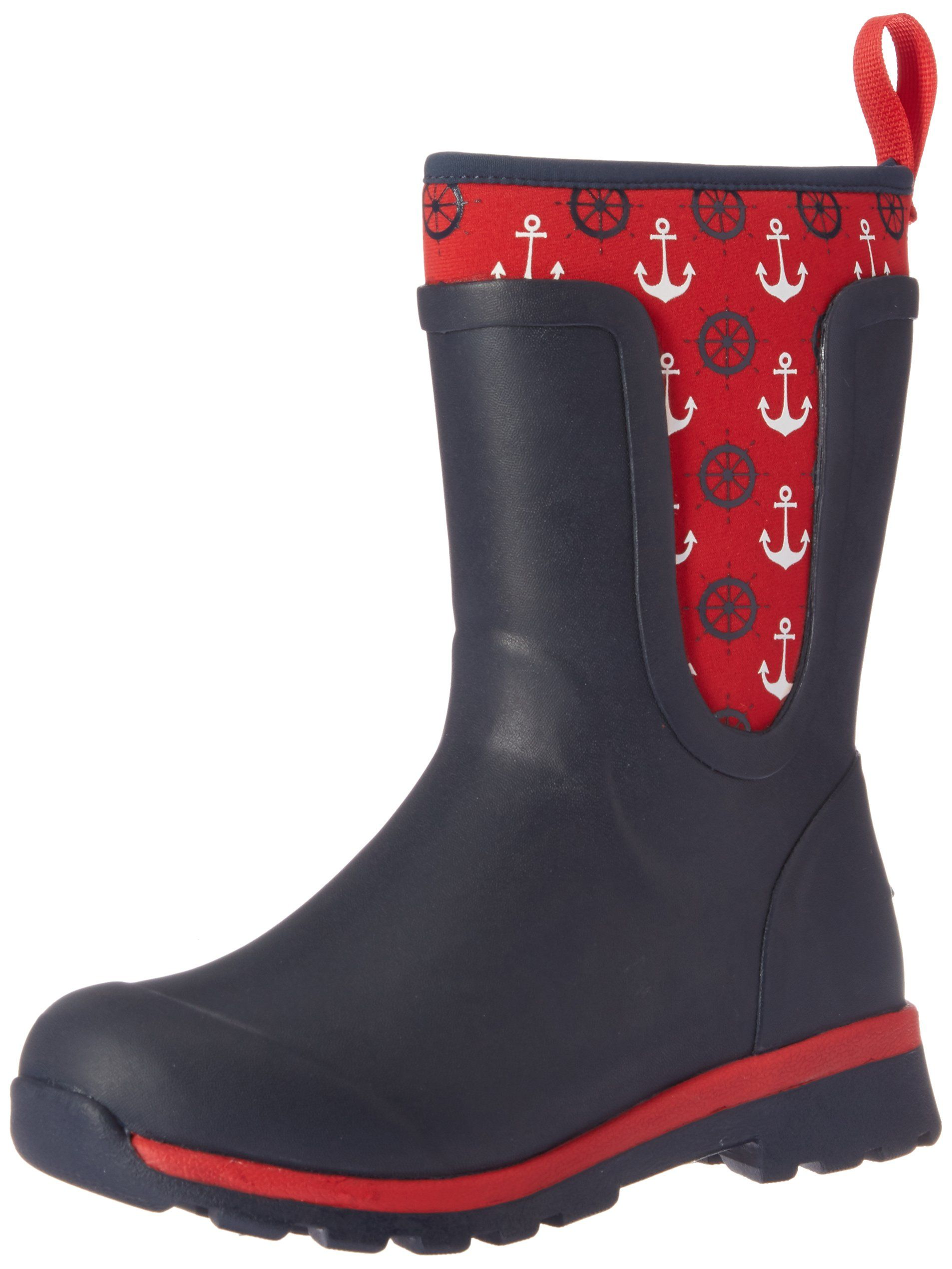 Muck Boot's Navy/Anchors Youth's Cambridge Boot with PK Mesh Lining - Size 9 CVilf3