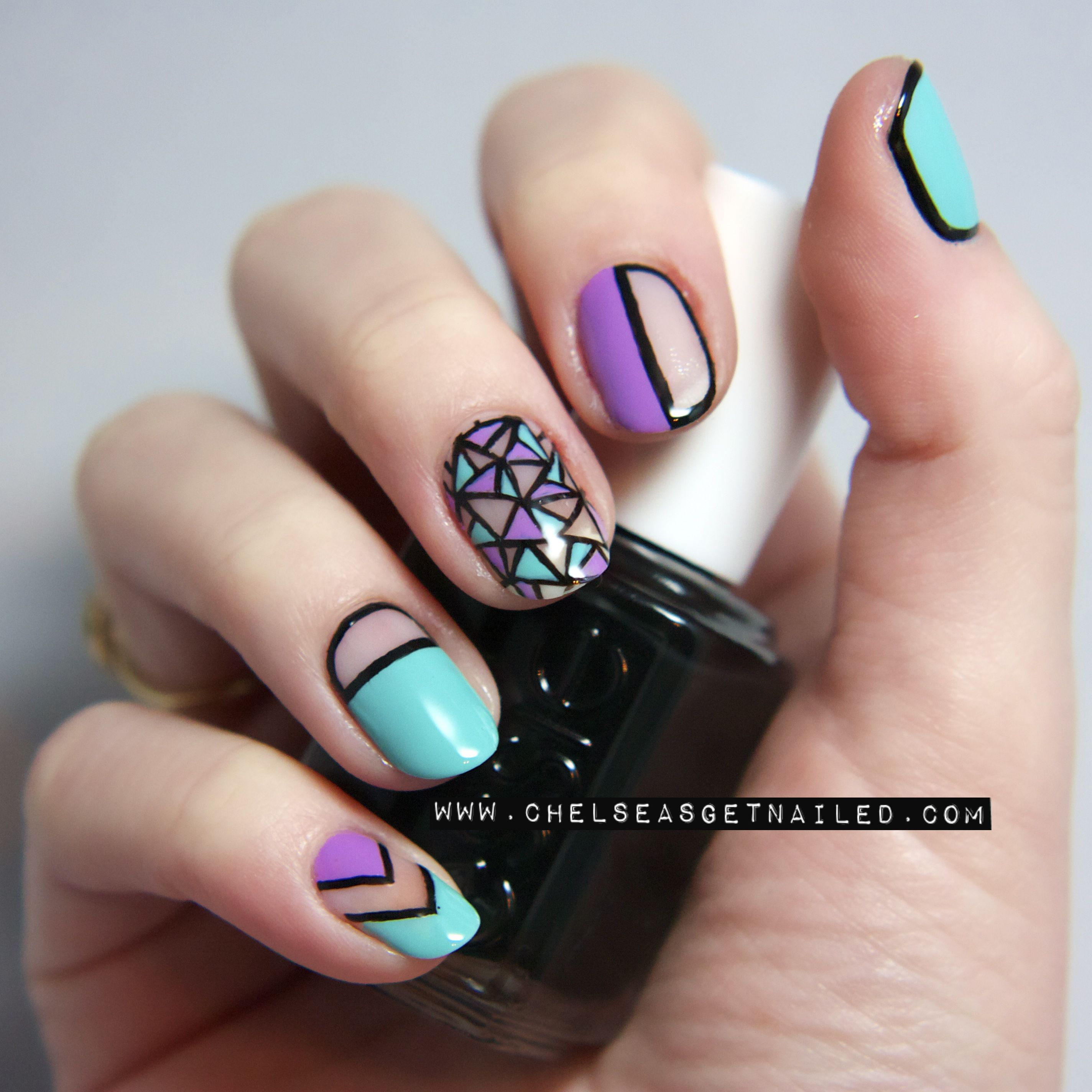 Cut Out Nails www.chelseasgetnailed.com | Nail Art | Pinterest ...