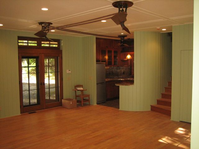 Rhea Fan Private Arts And Crafts Home Belt And Pulley Ceiling Fan System Woolen Mill Fan Company Llc Www Architectura Ceiling Fan Woolen Mills Home Crafts