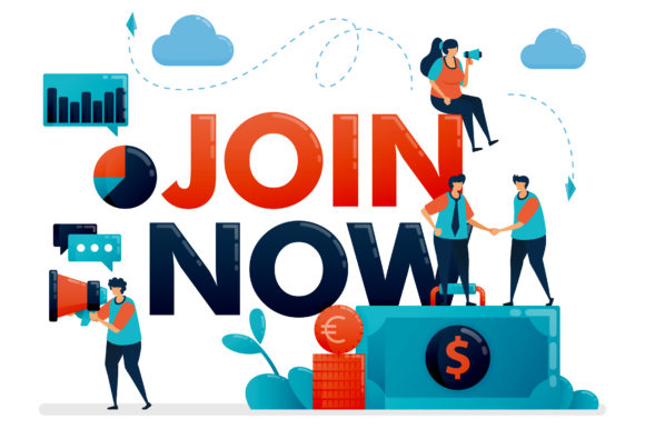 Join Now Poster For Referral Program Graphic By Setiawanarief111 Creative Fabrica