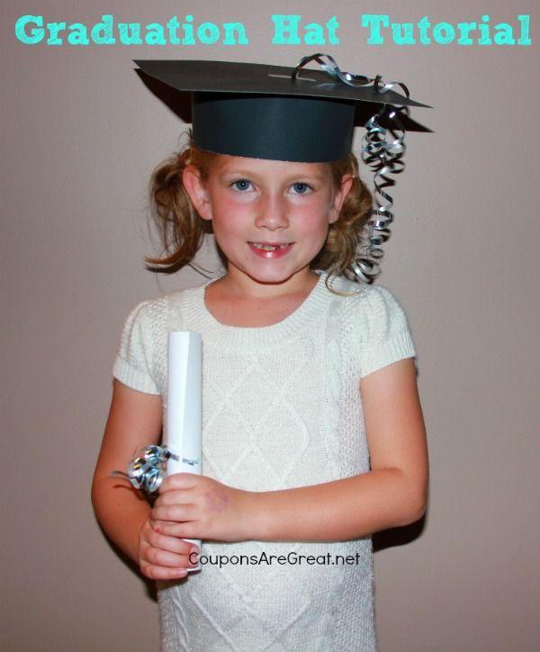 Graduation Cap Tutorial Perfect For Preschool And Kindergarten Kindergarten Graduation Party Kids Graduation Diy Graduation Cap
