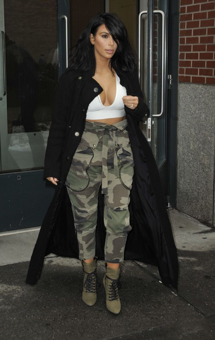 Kim Kardashian West Braved The Nyc Cold In A 77 House Of
