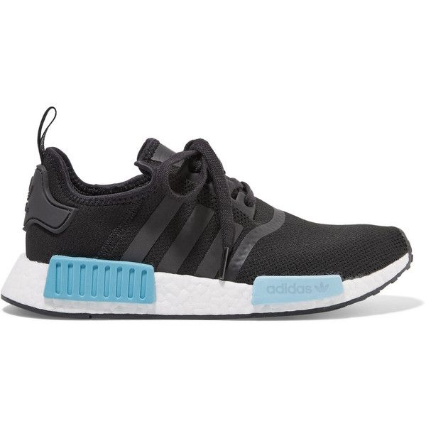 adidas Originals NMD_R1 rubber paneled mesh sneakers ($130