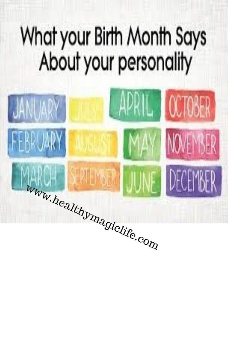 Heres An Interesting Read About What Your Birth Month Says About