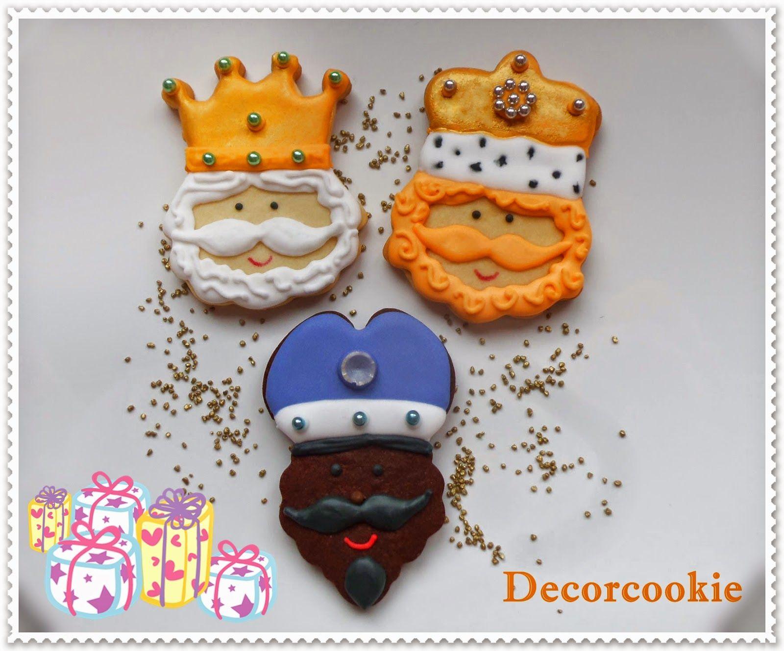 Galletas De Los Reyes Magos Christmas Cookies Galletas