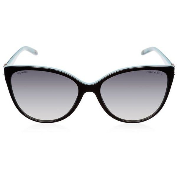 3e98cc7528a Tiffany Crystal Cat Eye Sunglasses (755 BAM) ❤ liked on Polyvore featuring  accessories