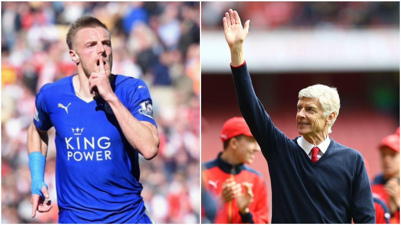 WENGER GETS VARDY! Jamie vardy, Arsenal, Football