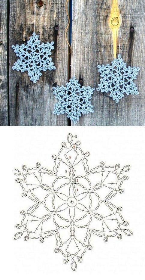Снежинка от Лены http://elalko77.blogspot.ru/ | It\'s CHRISTMASSSSS ...