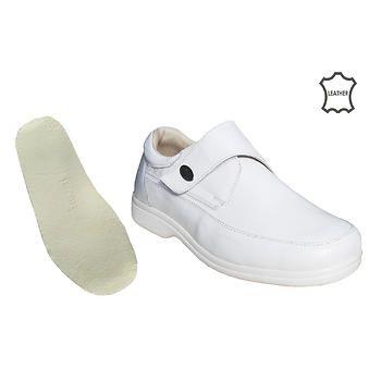 Diyabet Ayakkaba Lara Erkek Ca Rtla Model Beyaz Od51b Deri Ve Ortopedik Deri Erkek Modeller Terlik
