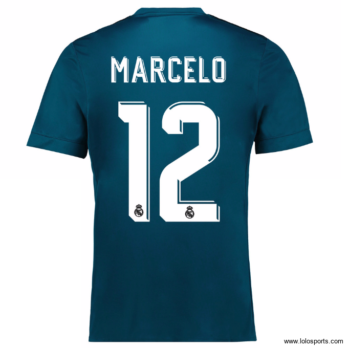 Maillot Marcelo Real Madrid Third 2017/2018