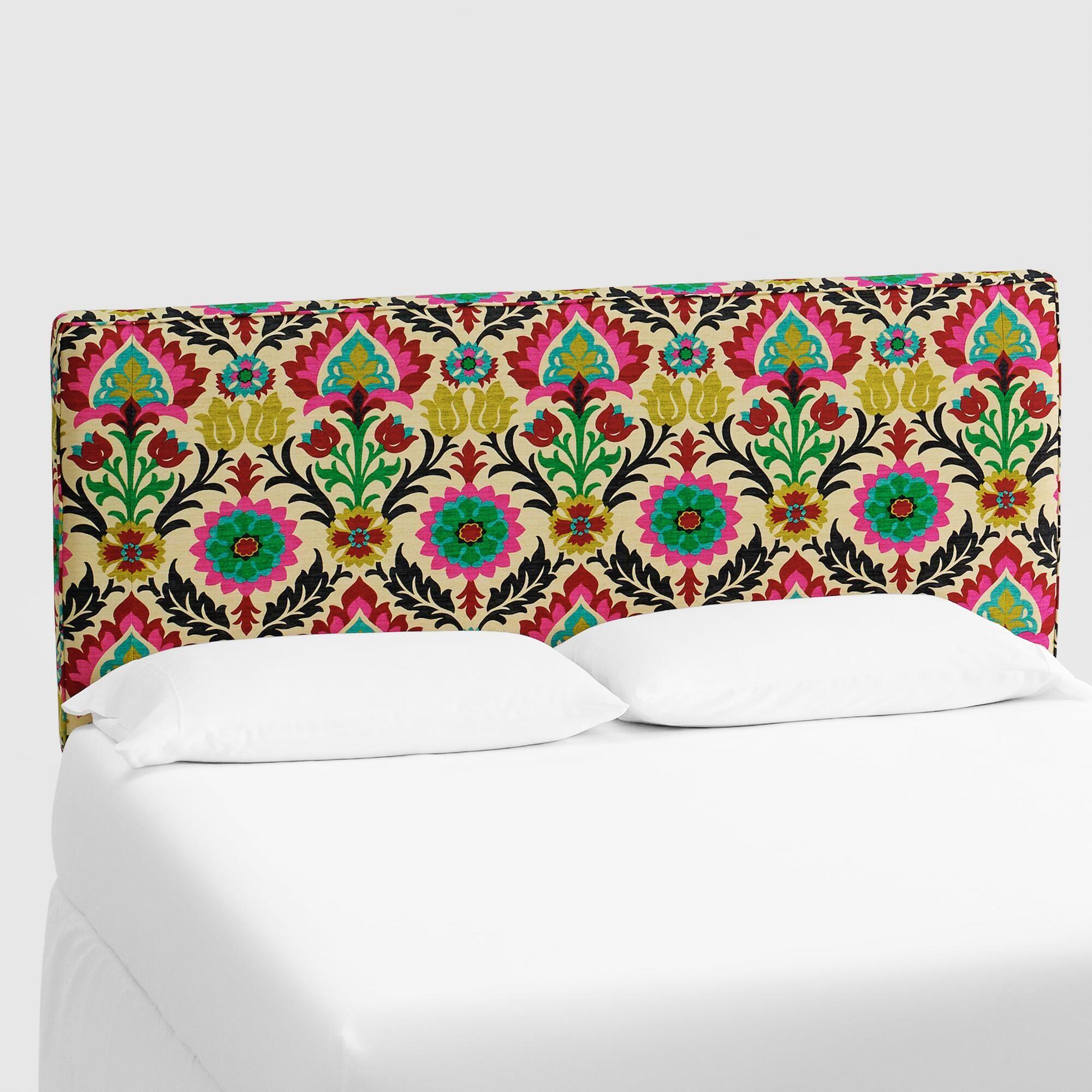 Desert Santa Maria Loran Upholstered Headboard Multi  Fabric