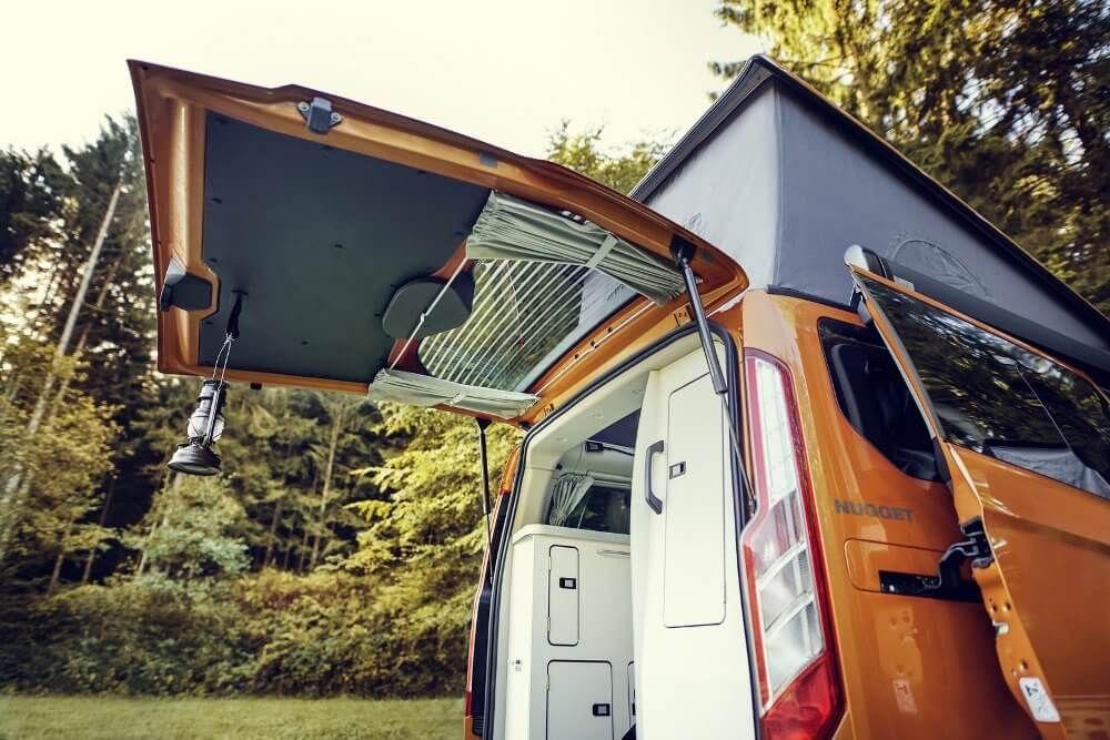 Ford Transit Custom Nugget 2020 La Libertad Sobre Ruedas Ford